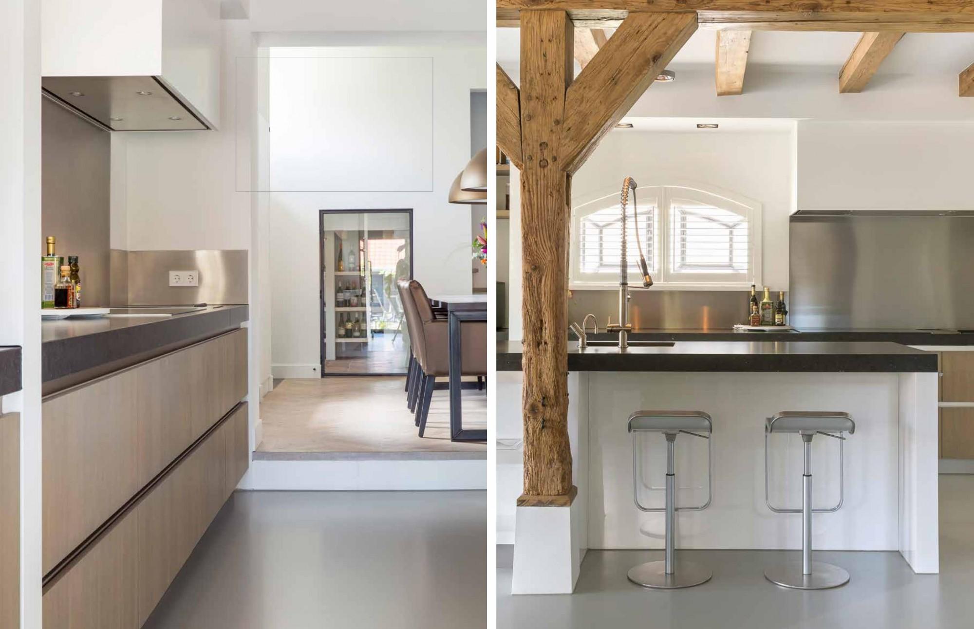 Landelijke Keuken Handgemaakt : Moderne en landelijke keuken handgemaakt door JACOB Apeldoorn